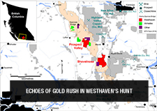 Echoes of gold rush in Westhaven's hunt