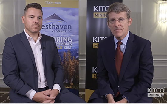 Kitco Interview with Westhaven CEO Gareth Thomas September 2019